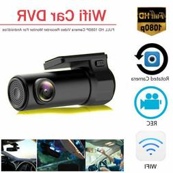 1080 HD Wifi Dual Lens Car DVR Dash Cam Video Recorder Front