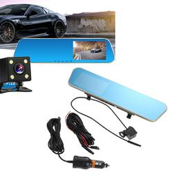 1080P Dual Lens Car Dash Camera 140°Wide Angle Front and Re