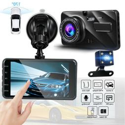 1080P Dual Lens For Car Dashboard DVR Video Recorder Dash Ca