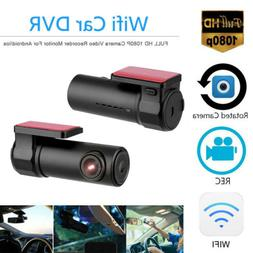 1080P FHD Wireless Wifi Hidden Car DVR Camera Dash Cam Video