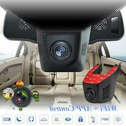 1080P HD Car Camera Wifi 170° Night Vision DVR Cam Dash Vid