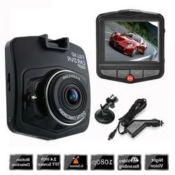 1080P HD Car Camera DVR Dash Cam Recorder G-sensor Night Vis