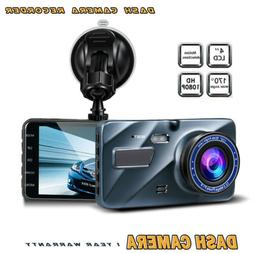 1080P HD Car DVR Dash Vehicle Camera Loop Recorder Cam Night