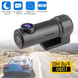 1080P HD Hidden Car Camera DVR Dash Cam Recorder with WiFi G