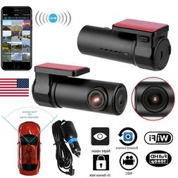 1080p HD Wireless Wifi Hidden Car DVR Camera Dash Cam G-Sens