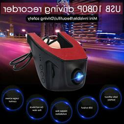 1080P Hidden Camera WiFi Car DVR Video Recorder Front and Re