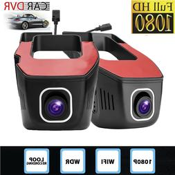 1080P WiFi Wireless 165° Car DVR Dash Cam Camera Video Reco