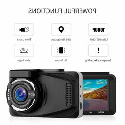 XGODY Full HD 1080P GPS Car DVR Dashcam Video Recorder Night