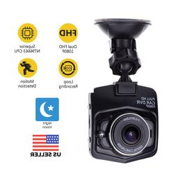 2.4'' Full HD 1080P Dash Cam Car Front or Rear DVR Camera Ni