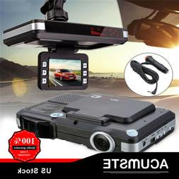 2 in 1 car camera lcd dvr