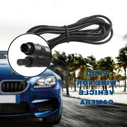 2M Dash Cam Rear View Backup Reverse Camera 4 Pin Extension