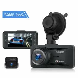 "TOGUARD 3"" Dash Cam 4K UHD Car Auto Camera DVR Voice Recorde"