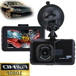 """3"""" Dash Cam Full HD 1080P Front and Rear Car Dashboard Camer"""
