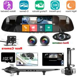 32g hd 1080p car rear view mirror