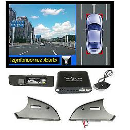 360 Degree Bird View surround system with Car DVR Camera for