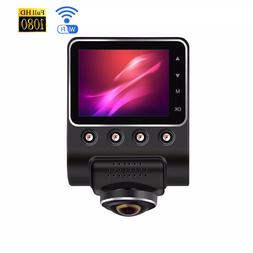 360 Degree Panoramic Car DVR WiFi Dashcam Driving Recorder W