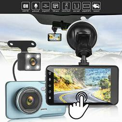 "Wifi Dash Cam 3"" LCD Dual 1080P Front & inside Car DVR Video"
