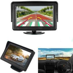 "4.3"" TFT LCD Reverse Rear View Monitor Screen Dash for Car C"