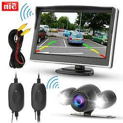 "Dual Lens 4"" 1080P Car Dashboard DVR Video Recorder Dash Cam"