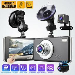 4 hd 1080p 3 lens car dvr