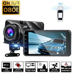"4"" Vehicle 1080P Car Truck Dashboard DVR Camera Loop Recordi"