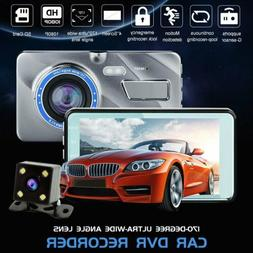 "4"" Vehicle Dash Cam HD 1080P Car Dashboard DVR Camera Video"