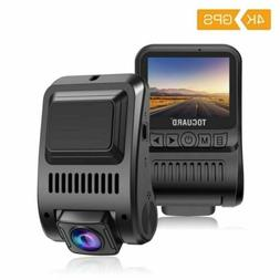 TOGUARD 4K Car Dash Cam Ultra HD 2160P GPS Dashboard DVR Cam
