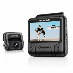 4K Dash Cam For Cars EAHCPAI E100 Pro Camera Dual Front & Re