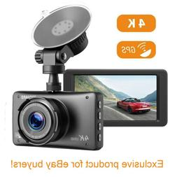 4k dash cam wifi gps ultra hd
