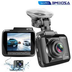 AZDOME 4K HD 1080P Dual Lens Car Dash Cam WiFi Front Rear Ca