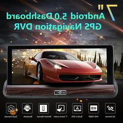 7'' 1080P HD Dash Car Rearview Traffic Camera Recorder With