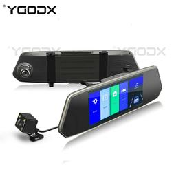 XGODY 7'' Dual Lens For Car DVR HD 1080P Video Recorder Came