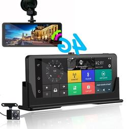 7 Inch Auto Register DVR 1080P Car Dash Cam Rear View With G