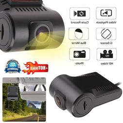 720P Hidden Car DVR Dash Camera Driving Recorder for Android