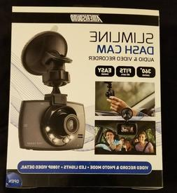 A new Amerisound Slimline Dash Cam Video/Audio Recorder wit