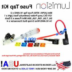 Add-A-Circuit Dual Mini APM ATM Fuse Tap Kit Dash Cam Radar