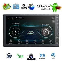 """Android 9.0 7""""HD Double 2Din In Dash Car Stereo Radio GPS Na"""