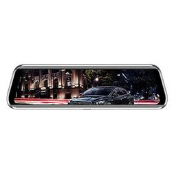 Everpert Anytek T900+ 9.66 Inch Touch Car Rearview Mirror DV
