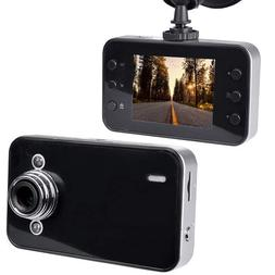 Automotive 720p HD Dashcam with Night Vision 2.4 LCD Screen