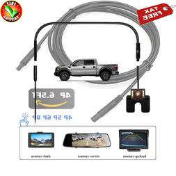 Backup Camera Recorder Cable Dash Cam Rear View Reverse Car