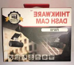 BRAND NEW Thinkware Dash Cam FW10 8GB MICRO SD CARD INCLUDED