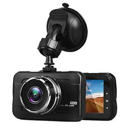 Car Camera Night Vision Dash Cam with Wide Angle Lens Dashbo