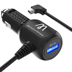 Car Charger Compatible for Garmin Nuvi, APPHOME Car Vehicle