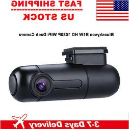 "2.5"" LCD 1080P Car Dash Camera WIFI Motion Detection Wireles"