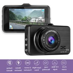 Car Driving Camera HD 1080P with Motion Detection, Parking M