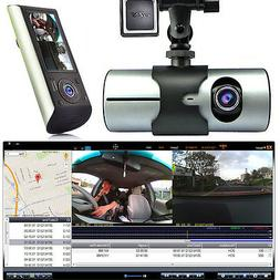 Indigi? HD Car DVR Dual Camera Lens Dash Cam Night Vision GP