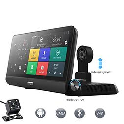 "4G Car DVR Camera GPS 8"" Android 5.1 FHD 1080P WIFI Video Re"