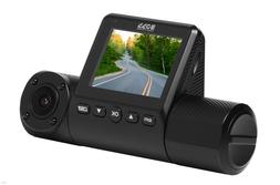 Boss Audio Car Front & Inside Dash Cam with Wi-Fi & GPS