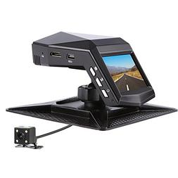 Car Camera Front and Rear, Full HD 1296P Dual View Dash Cam