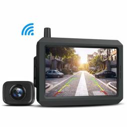 Auto-Vox Dual Lens Car DVR Mirror Dash Cam Video Recorder +
